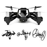 Cheerwing 3D Flip 2.4Ghz 6-Axis Gyro RC Quadcopter Car U841-1 Drone with 2MP HD Camera