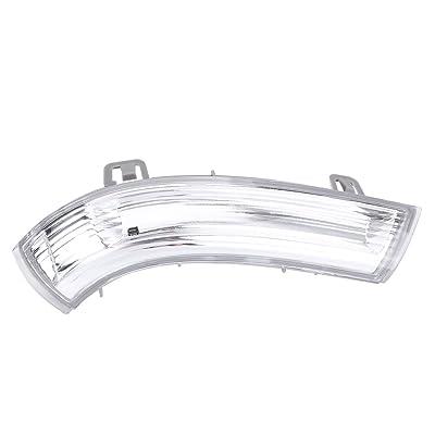 Right Side Wing Mirror Indicator, Keenso Right Wing Mirror Turn Signal Light Bulb for VW MK5 Golf PASSAT JETTA SHARAN Skoda SUBERB SEAT Alhambra 1K0949102: Automotive