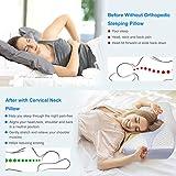 HOMCA Memory Foam Cervical Pillow for