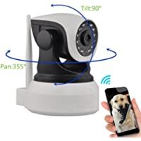 Dog Monitor - Camera Monitor- Check On Your Pet From Anywhere Any Time Pan Tilt The Camera…