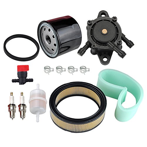HIPA 47 883 03-S1 Air Filter 24 393 16-S Fuel Pump Oil Filter Tune Up Kit for Kohler CH18 CH20 CH22 CH23 CH25 CV17 CV18 CV19 CV20 CV22 CV22S CV23 - Filter Fuel Pump Oil