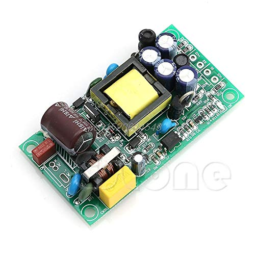 Utini Input AC85-265V Dual Out AC to DC Power Module Supply Isolation Output 24V//5V R06