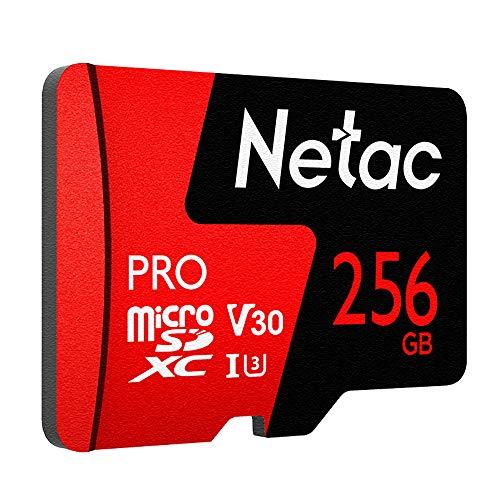256GB Micro SD Memory Card UHS I U3 V30 Pro High Speed Micro SDXC TF Card
