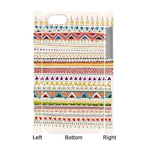 AZTEC pattern CUSTOM 3D Hard Case for iPhone 4,4S LMc-60098 at LaiMc