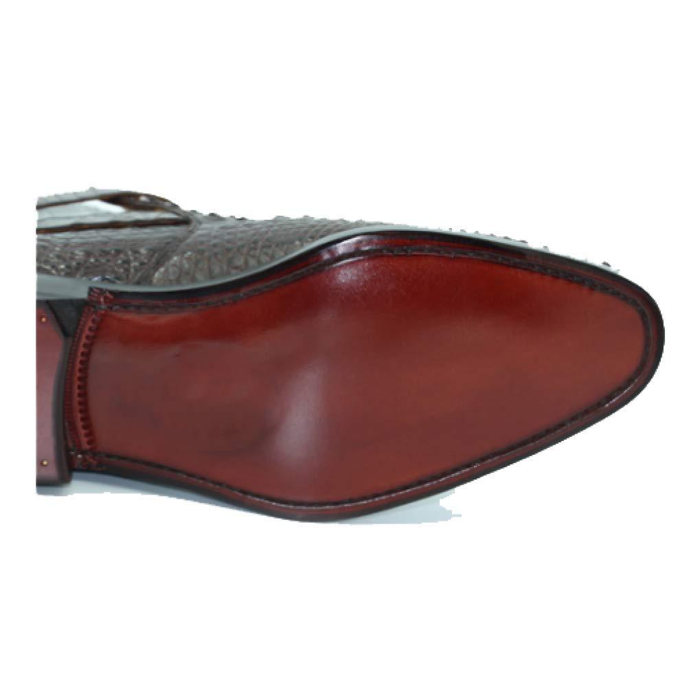 High End Custom Fashion Leder Handgemachte Business Casual Herren Leder Fashion Schuhes schwarz 9081a0