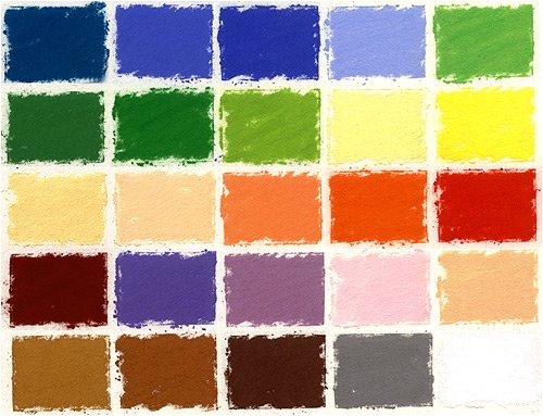 Girault Landscape Set of 25 Soft Pastels