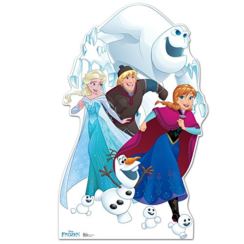 Disney Frozen Room Decor - Life Size Cardboard Standup Photo Prop Decoration