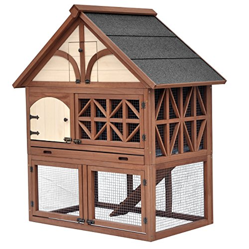Merry Pet Tudor Rabbit Hutch ()