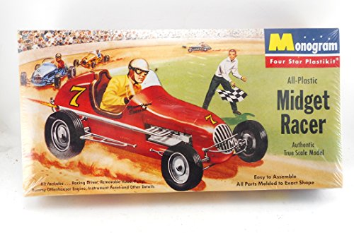 Monogram 1995 Midget Racer Plastic Model Kit P1 * ()