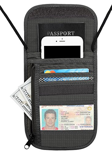 Travelambo Neck Wallet and Passport Holder Travel Wallet Review and Comparison