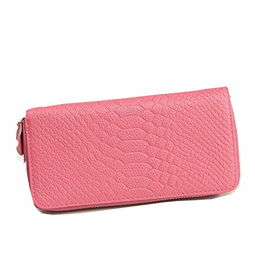 wallet wallet holder with bag card wallet Ladies Pink hand Axiba ZPIqvxw