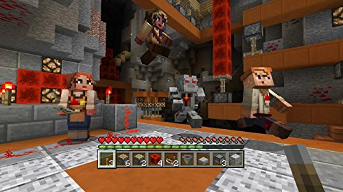 Minecraft - DLC,  Redstone Specialists Skin Pack - Wii U [Digital Code] by Mojang AB (Image #1)