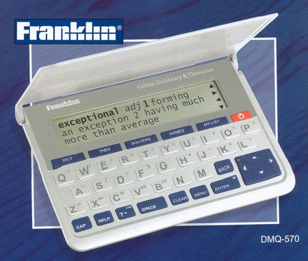 (Franklin)Collins English Dictionary with Thesaurus(Paperback Edition) by Franklin