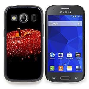 SKCASE Center / Funda Carcasa protectora - Manzana roja;;;;;;;; - Samsung Galaxy Ace Style LTE/ G357