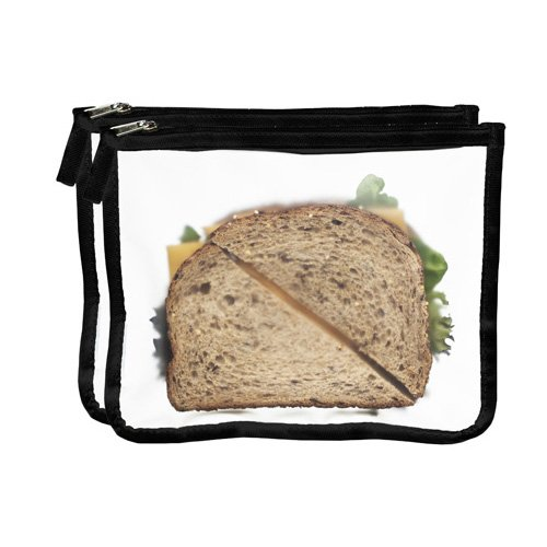 Zip Seal Lunch Bag Black product image