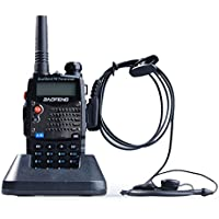 EastVita® UV5RA Ham Two Way Radio 136-174/400-480 MHz Dual-Band Transceiver (Black)