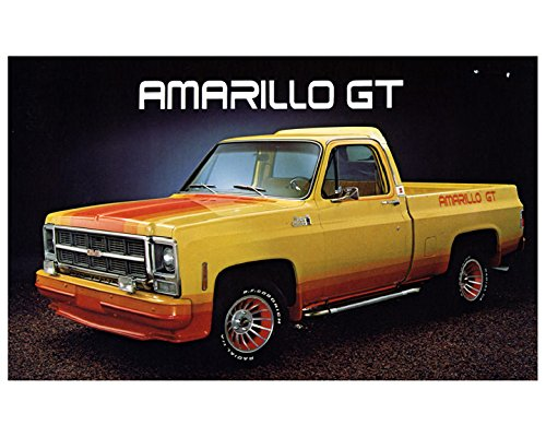 1979 GMC Amarillo GT Cowboy Cadillac Pickup Truck Factory Photo