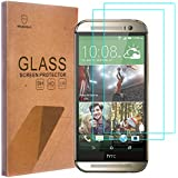 [2-PACK]-Mr Shield For HTC One M8 / M8S [Tempered Glass] Screen Protector with Lifetime Replacement Warranty