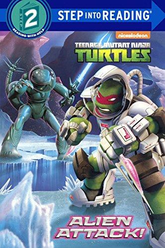 (Alien Attack! (Turtleback School & Library Binding Edition) (Nickelodeon; Teanage Mutant Ninga Turtles; Step)