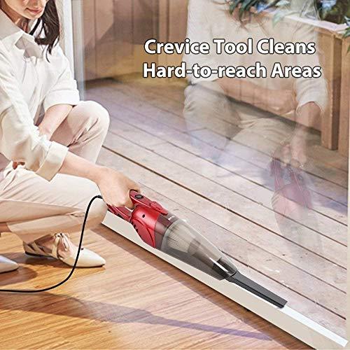 BESTEK 2 Stick Vacuum Lightweight Bagless Electric Broom Dust with