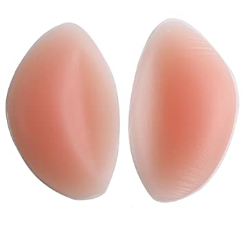 Womens Silicone Bra Inserts Molding Breast Chest Pads Enhancers Expanded Gel Push Up Chicken Cutlets