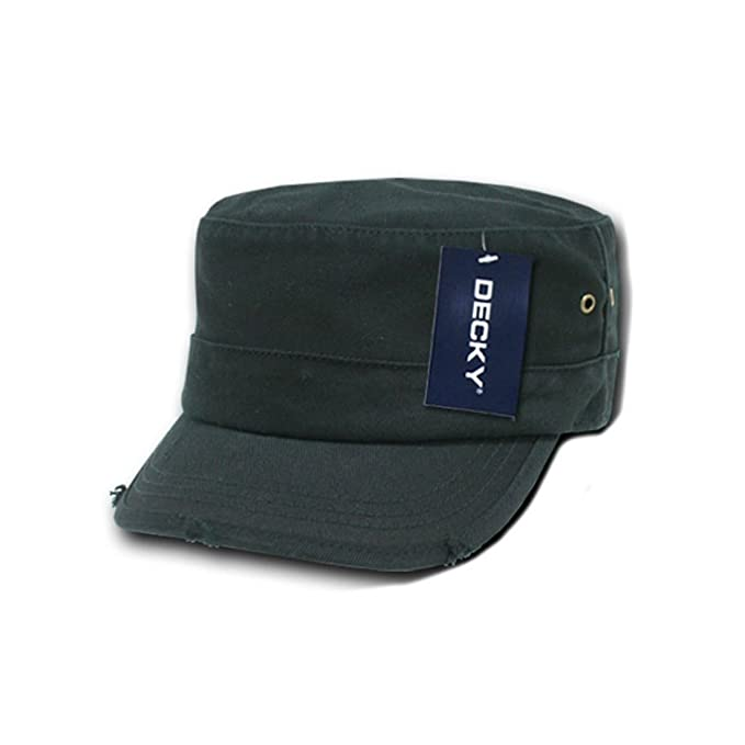 7a01f69dad8 Amazon.com  DECKY Inc Vintage Fitted G I Cadet Flat Top BDU Cotton ...