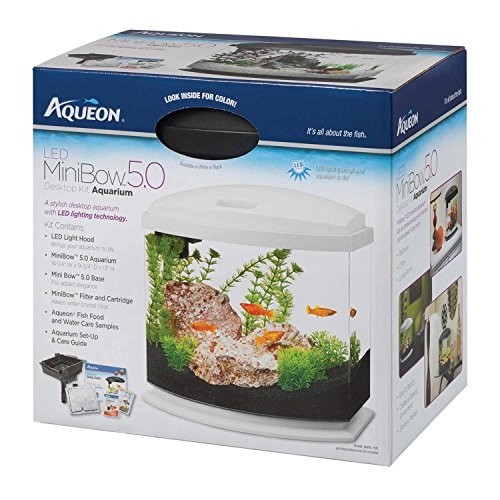 Aqueon MiniBow LED Kit, White, 5 Gallon by Aqueon