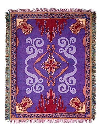 Hot Topic Disney Aladdin Magic Carpet Woven Tapestry Throw Blanket]()