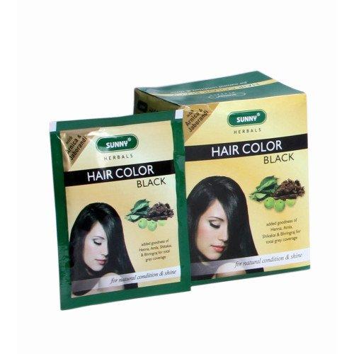 Baksons Herbal Hair Color Black Pack Of 12