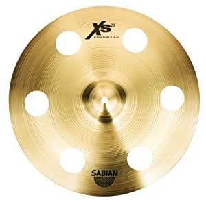 sabian xs1600p 16 inch ozone crash cymbal with free cymbal bag musical instruments. Black Bedroom Furniture Sets. Home Design Ideas
