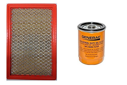 Generac 070185ES Air and Oil Filter Kit