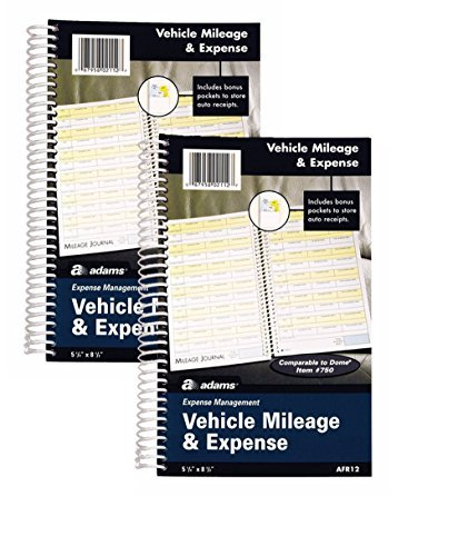 Adams Automobile Log Books (ABFAFR12) Pack Of -