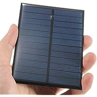 Bluelover 6V 1.1 W Monocristalino Panel Fotovoltaico Mini Panel Solar