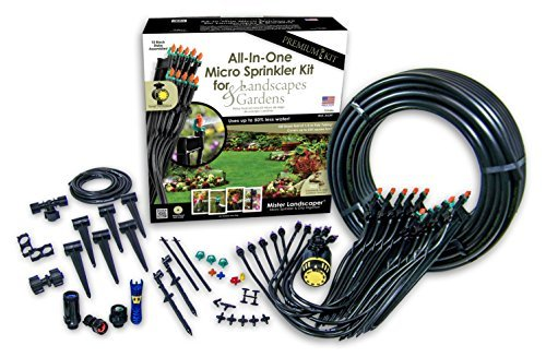 Mister Landscaper Premium All-In-One Micro Sprinkler Kit for Landscapes & Gardens