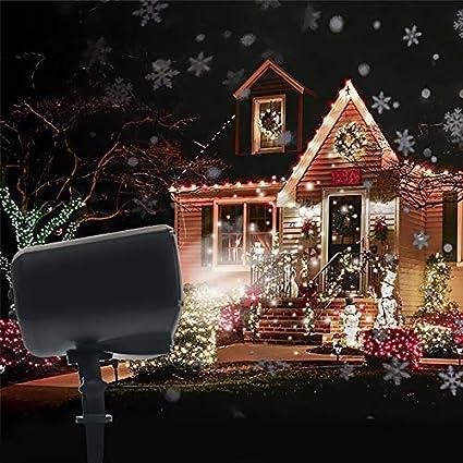Amazon.com: GoZheec 2018 Dynamic Snowfall - Luces LED para ...