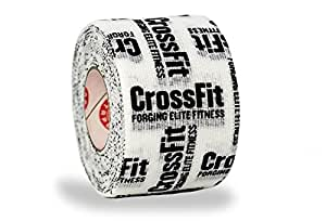 Goat Tape Scary Sticky Premium Athletic / Weightlifting Tape Crossfit … (White & Black)