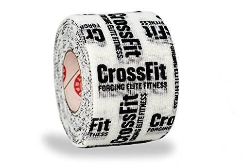 Goat Tape Scary Sticky Premium Athletic/Weightlifting Tape, Crossfit Tape, White & Black