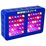 MEIZHI Reflector-Series 300W 450W 600W 900W 1200W LED Grow Light Full Spectrum for Indoor Plants Veg and Flower - Dual Growth Bloom Switches (300 watt)