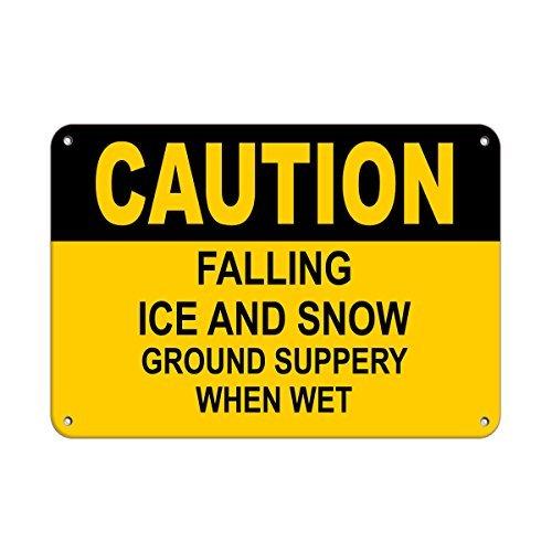 Personalizado metal signs para al aire libre Precaución ...
