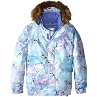 Burton Frozen Twist Bomber Girls Jacket (Olaf Frozen Print / Elsa & Anna Frozen Print)
