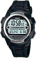 Casio W-756-1AV Reloj Digital para Hombre, Negro
