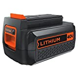 Black & Decker LBXR36 40-Volt Lithium Ion Battery, 1-1/2 Ah (Color May Vary - (Black or White))