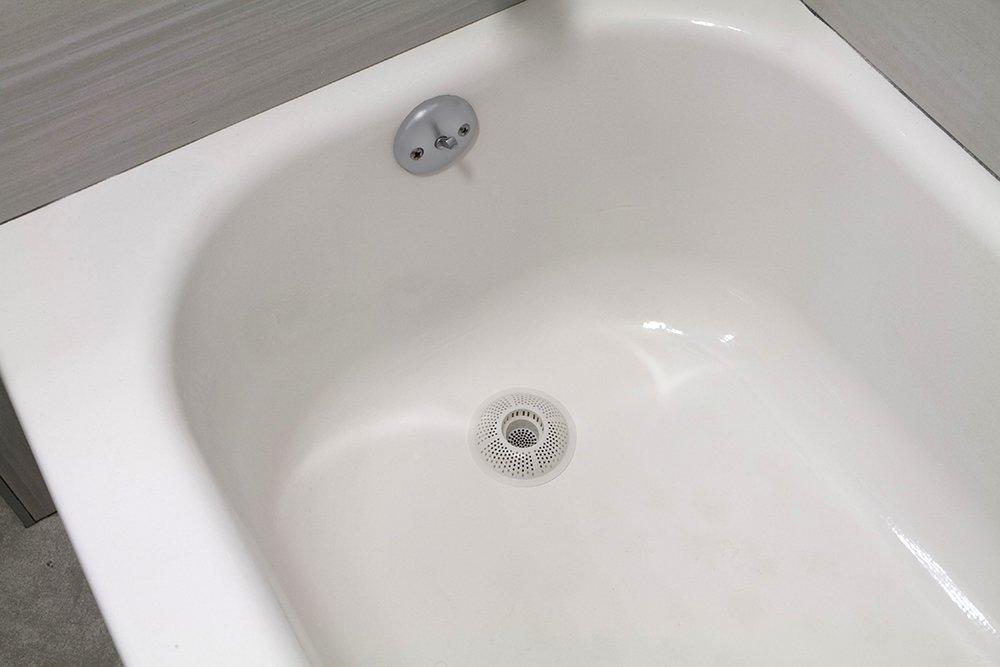 Vasca Da Bagno Intasata : Evriholder filtro raccogli capelli per vasca e doccia: amazon.it