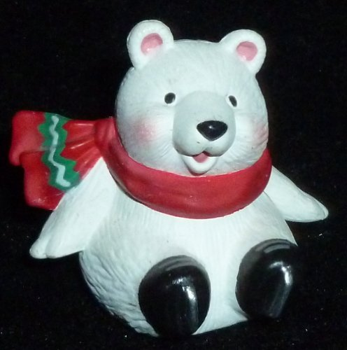 Hallmark Merry Miniature Christmas Polar Bear Figurine