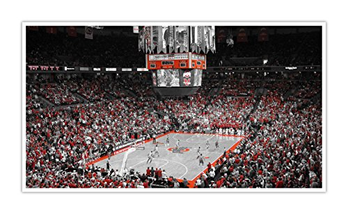 (Ohio State - College Basketball Touch of Color - 30x16 Matte Poster Print Wall Art TOC)