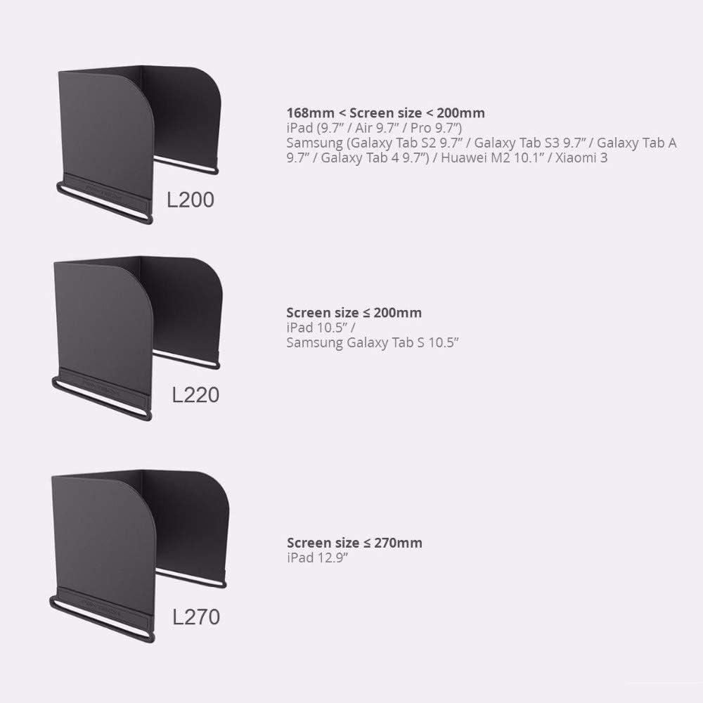 Color : L111 CHENJUAN For dji Mavic Mini//Mavic Pro 2 Controlador de Zoom Cubierta del Monitor Sun Capucha Parasol for dji Mavic Pro//Aire//Spark//Phantom 4 Pro Piezas de Repuesto