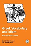Greek Vocabulary and Idiom %28Bcpaperbac