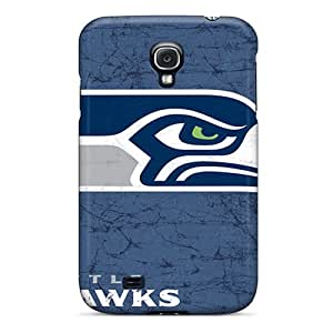 Fashion Tpu Case For Galaxy S4- Seattle Seahawks Defender Case Cover
