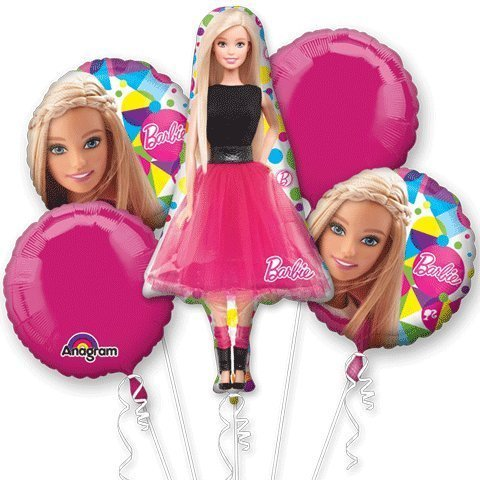 Barbie Sparkle Bouquet Of (Barbie Birthday Party Supplies)