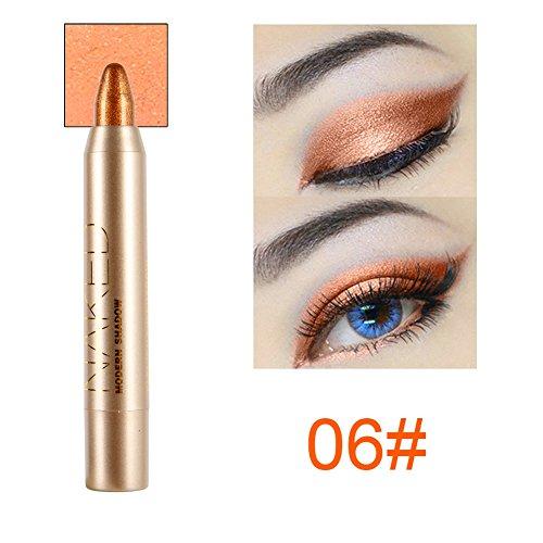 Cocohot Professional Eyeshadow Pencil Eye Shadow & Liner Combination Makeup Eyeliner Pencil Pen (J6)